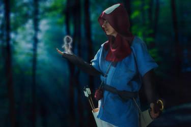 Ashitaka - The Kodama's of the Forest by Juggernaut-Art