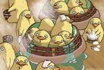 Duckling Bath - Spirited Away