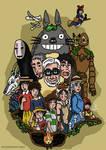 Ghibli poster by Juggernaut-Art