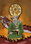 Iroh the dragon of the west by Juggernaut-Art