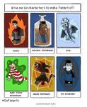6 Fanarts challenge by Juggernaut-Art