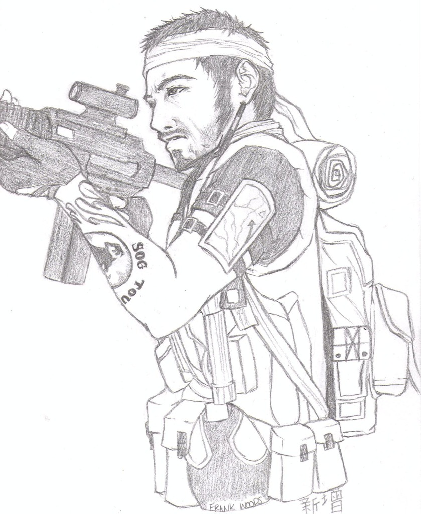Call Of Duty Coloring Pages Black Ops Sketch Auto Electrical