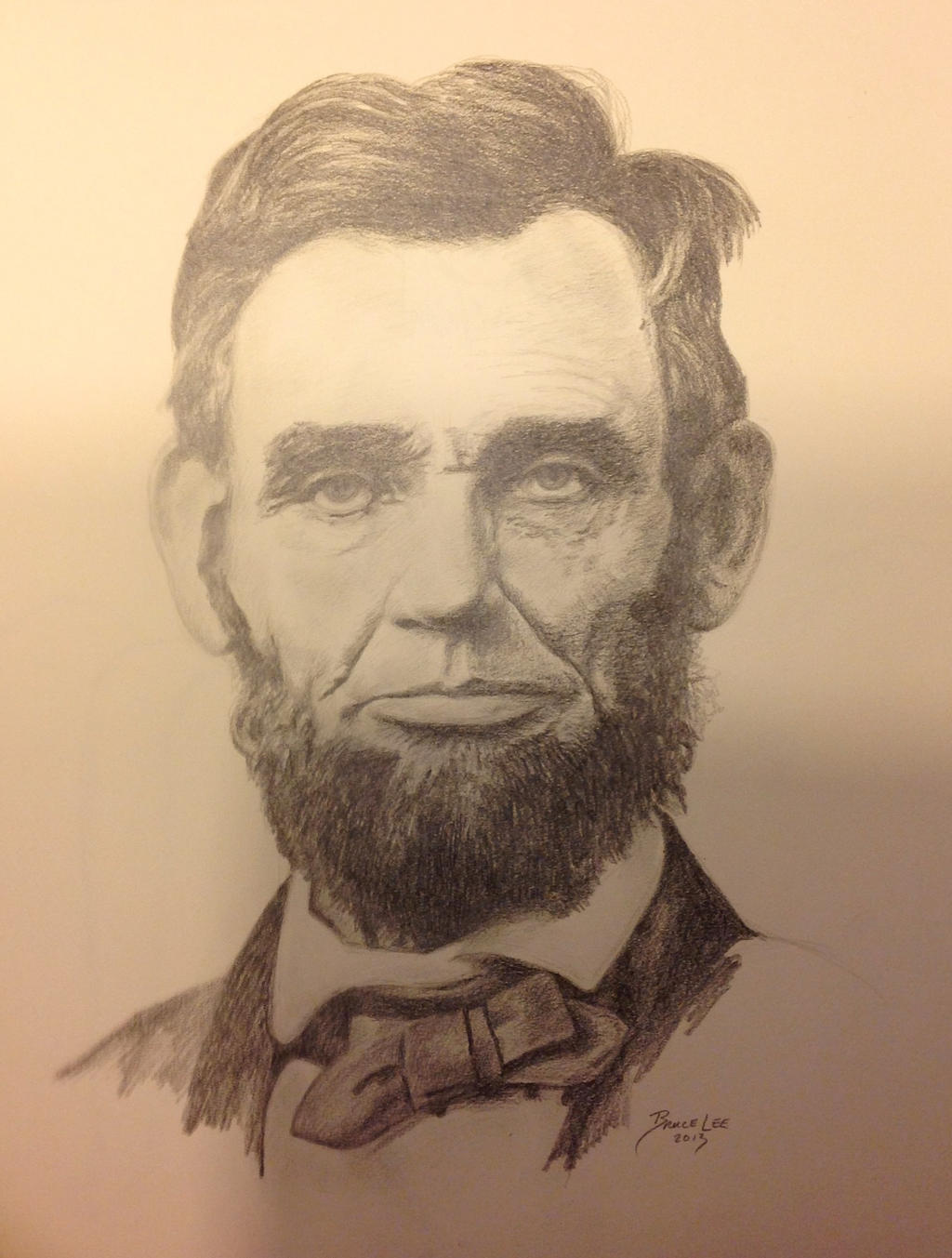 Abraham Lincoln by Witchartist