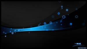 Blue Wave Wallpaper by Phrosh1