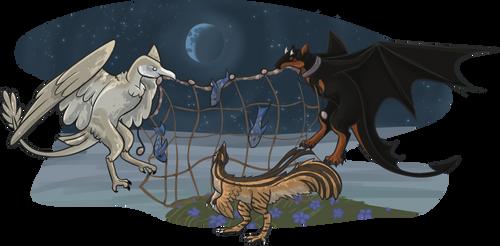 Net's Half full [DracoStryx - Fishing]
