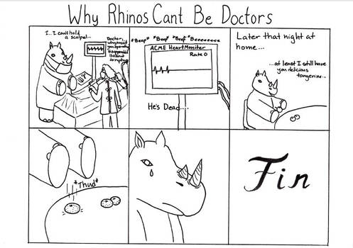 Why rhinos can't be doctors