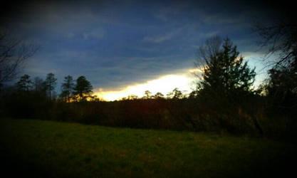 sunset by slugpitcher