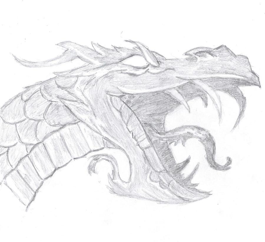 Dragon Face By MrHacky On DeviantArt