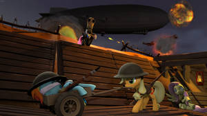 Zeppelins and Mustard Gas by d0ntst0pme