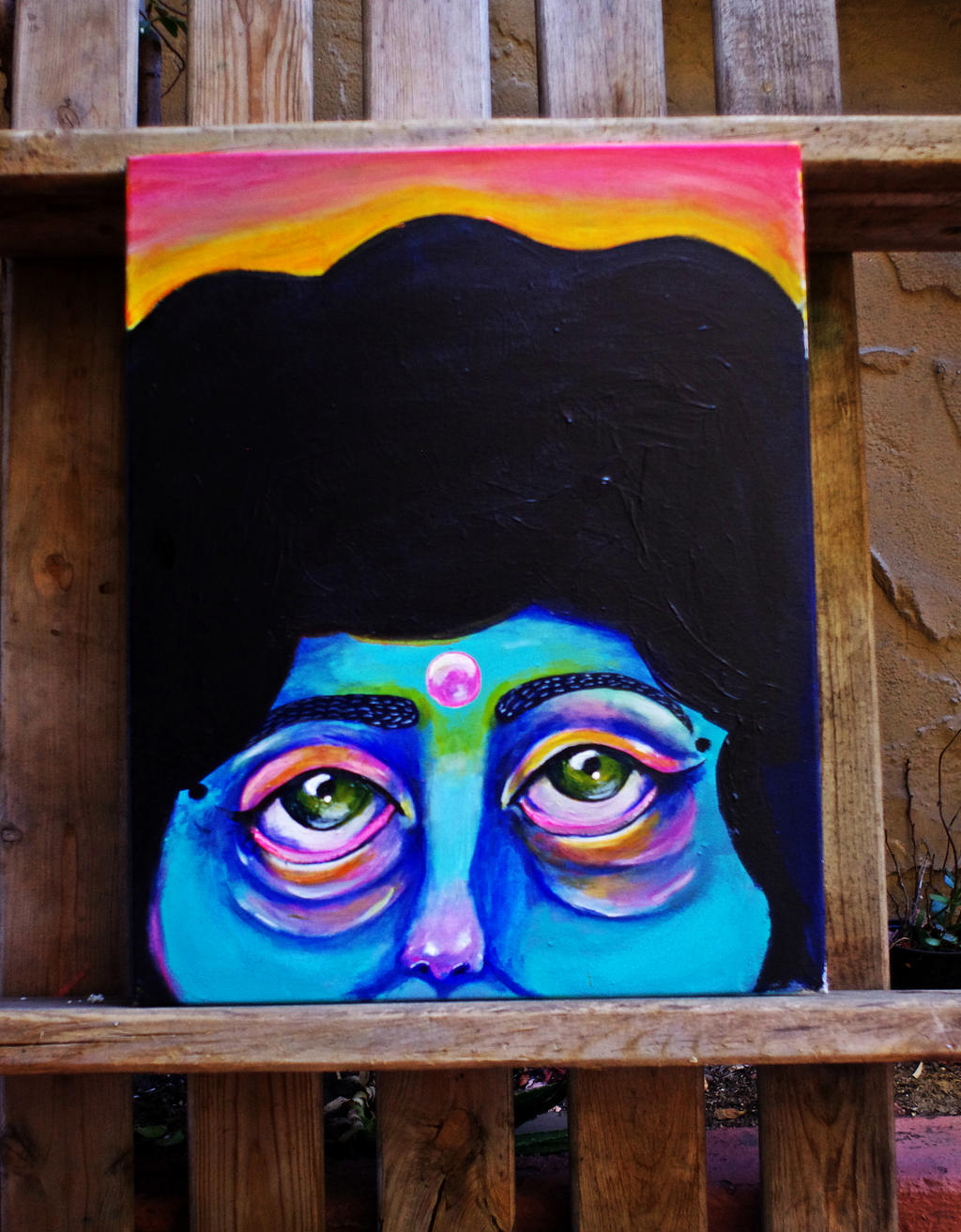 Afro astral by Human-Canvas
