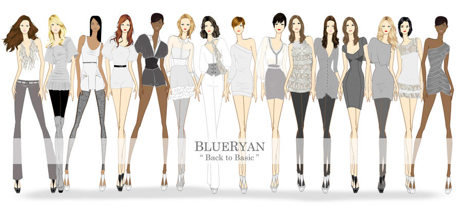 BLUERYAN Spring Summer 2012 Back to Basic Sketches by ...