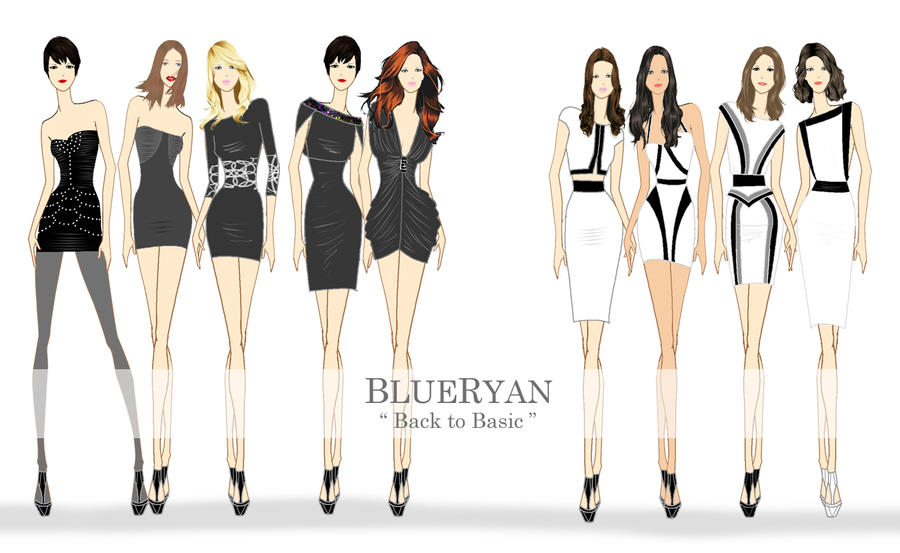 Design Fashion Sketches