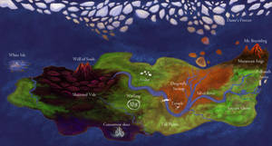 Legend of Spyro map