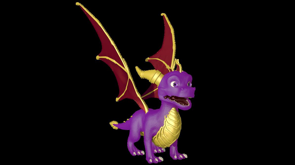Spyro by OmicronWanderer