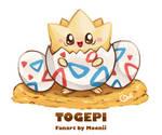 Pokemon Togepi by MooniiAdopt