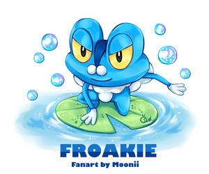 Pokemon Froakie by MooniiAdopt