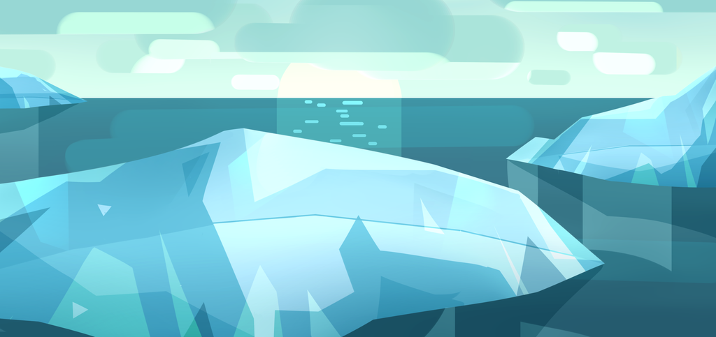 Ice background by Sword-Dance