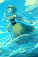 Steven Universe: Lapis Lazuli by Circlejourney