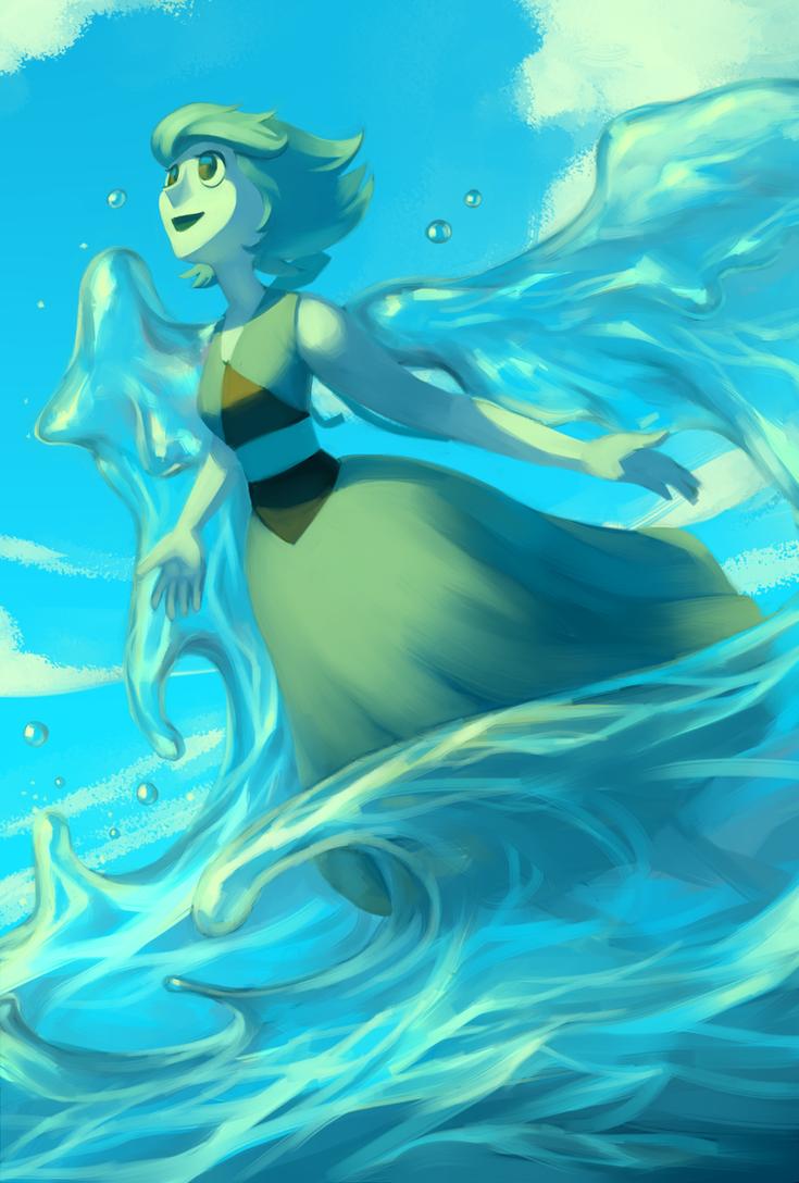 Steven Universe: Lapis Lazuli by Sword-Dance