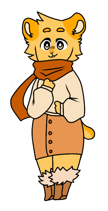 pumpkin spice dorito adopt reveal by AndroiDoodler