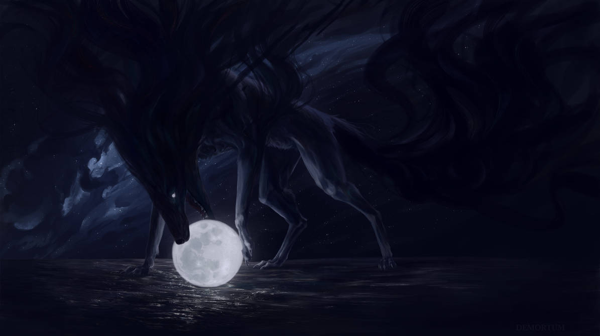 Have you seen the moon by Demortum