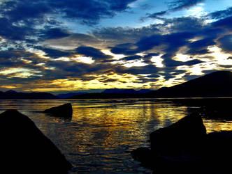 Norway's Golden Sun by UrbanStreet