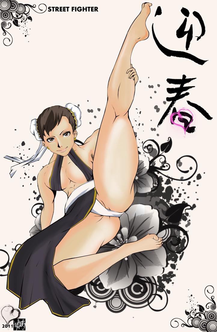 Chun Li by punkwalker