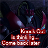 Knock Out is thinking by xRobotZombie