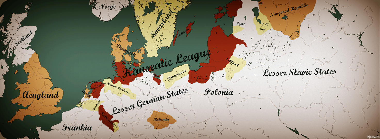 Hanseatic League by zalezsky on DeviantArt