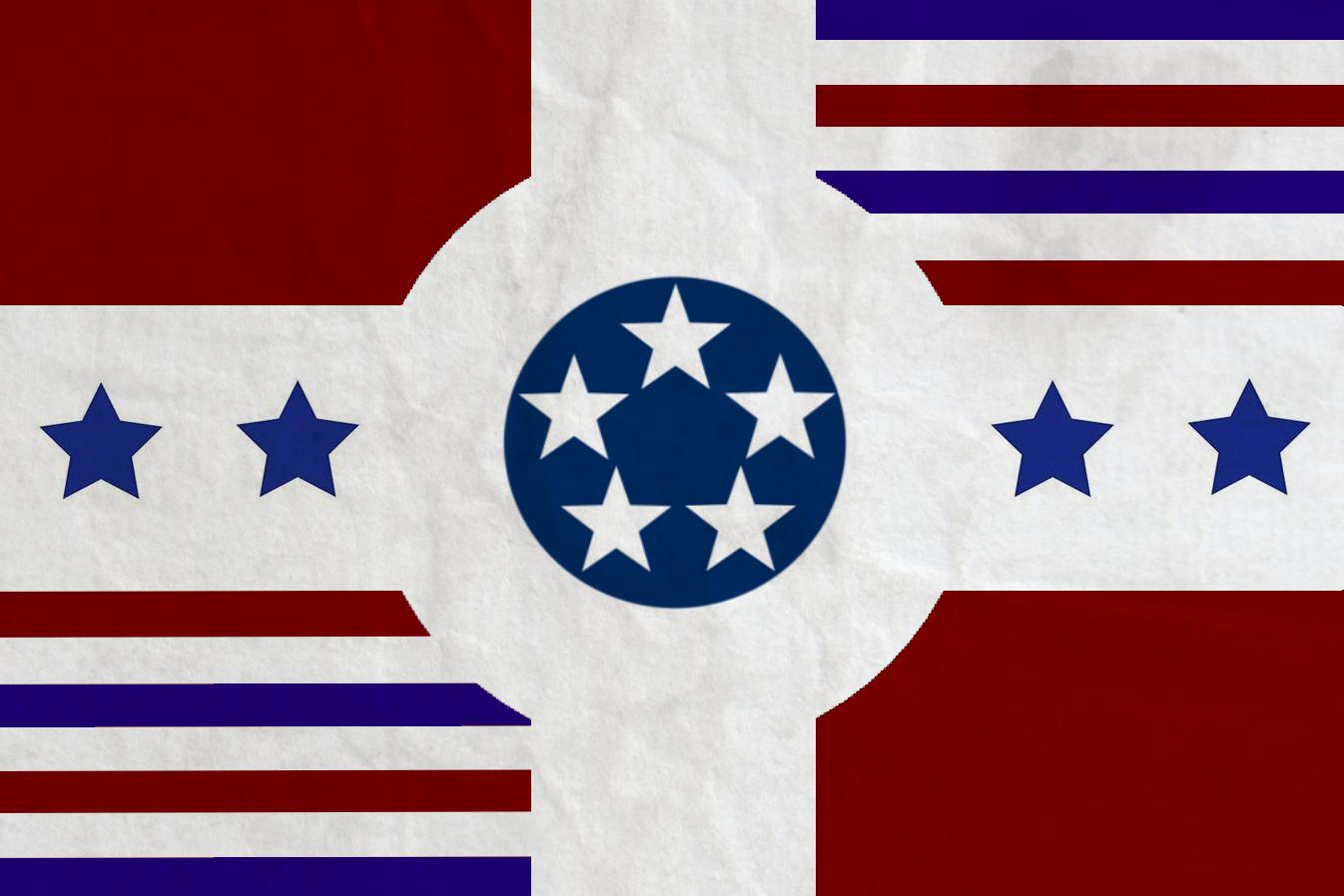 American Federal Republic Flag by zalezsky