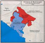 Division of Montenegro