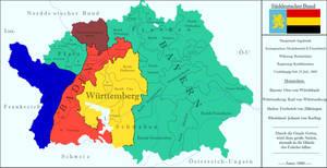 South German Confederation by zalezsky