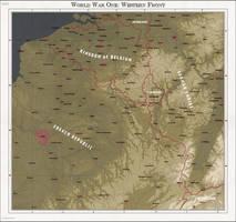 World War One: Western Front by zalezsky