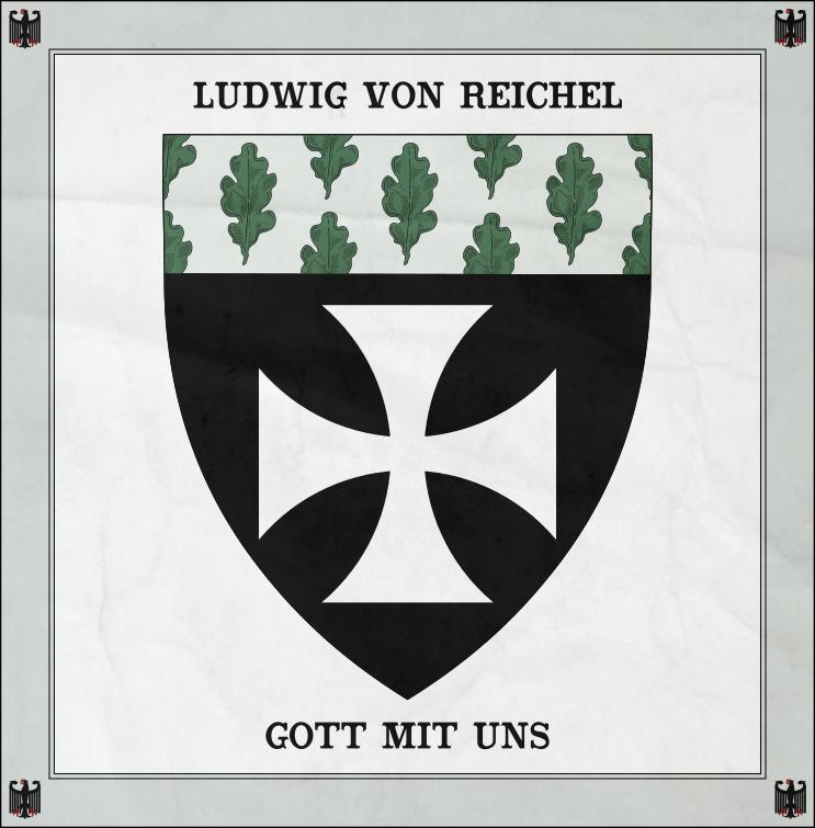 Ludwig von Reichel Coat of Arms by zalezsky