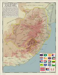 United Republics of South Africa by zalezsky
