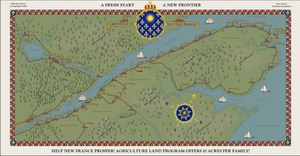 New France: Colonization Poster