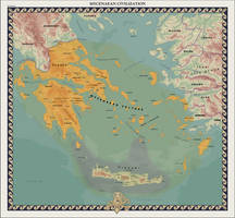 HAoE: Mycenaean Civilization by zalezsky