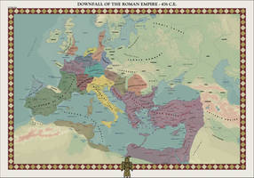 HAoE: Downfall of the Roman Empire by zalezsky