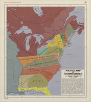 Political Map of Eastern America by zalezsky