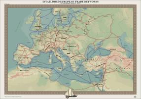 HAoE: Established European Trade Networks by zalezsky