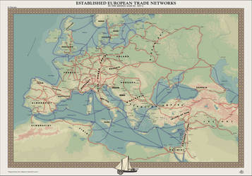 HAoE: Established European Trade Networks by zalezsky