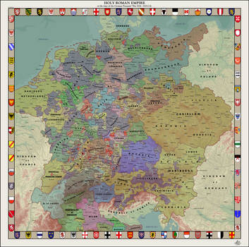 HAoE: Holy Roman Empire and the Peasants' War by zalezsky