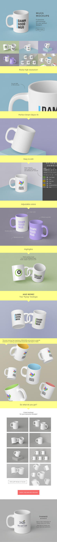Mugs Mockups Pack by bulbfish-studio