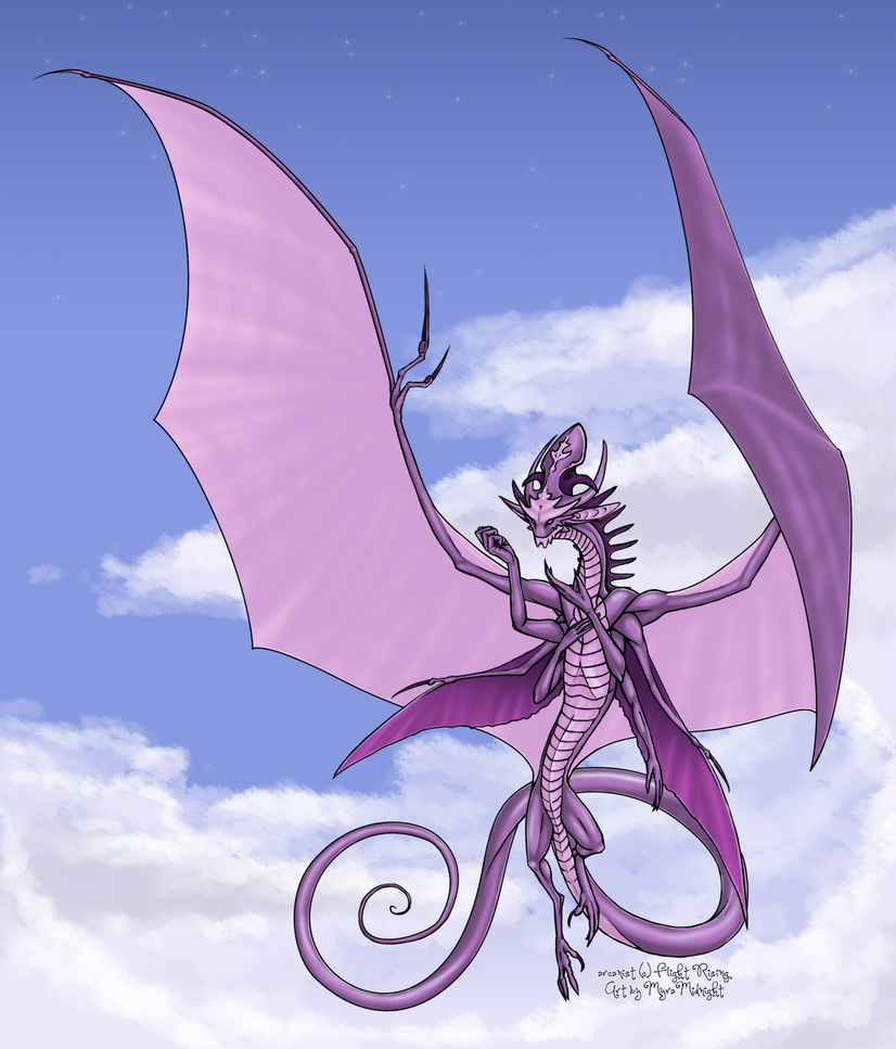 A fistful of stars - the Arcanist (FlightRising)