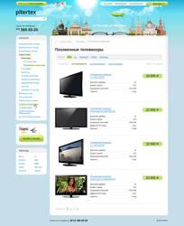 Online shop 'Pitertex'