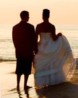Sunset Wedding - 1 by Dragonpyro0085