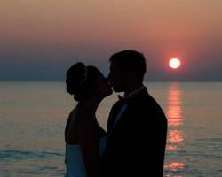 Sunset Kiss - 1 by Dragonpyro0085
