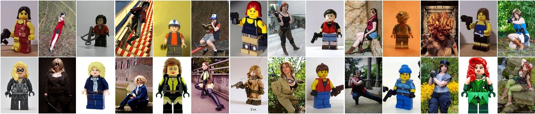 Lego Cosplay by brokenbfly