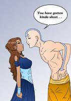 Avatar: Older Katara and Aang by Skulls-and-Lipstick