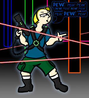 Reese - Laser Tag